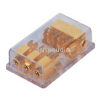 3 gang AGU Fuse power distribution block | gold