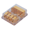 4 Way  car AGU Fuse power distribution block | gold