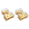 (0GA x 1 + 4GA x 1) In + 8GA x 2 out - Car Battery Terminals | Gold