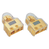 Digital Display  Battery Terminals (0GA x 1 + 4GA x 1) In + 8GA x 2 out | Gold