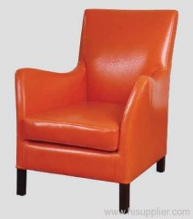 Club Chair in leather