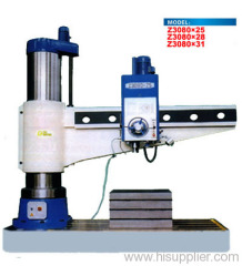 Radial deep hole drilling machine