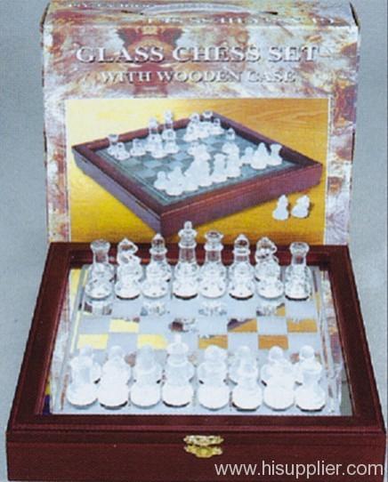 Glass Chess Set Manufacturer Supplier