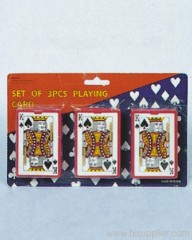 3pc Playing Card