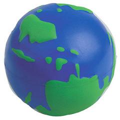 World stress ball