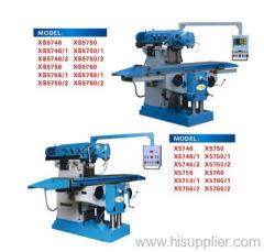 Knee-type Universal Milling Machines