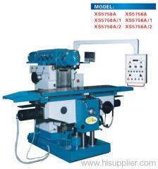 Knee type Universal Milling Machines