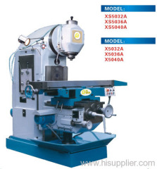 CNC milling machinery