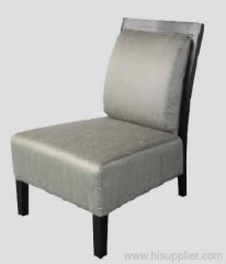 Wood Back Chair