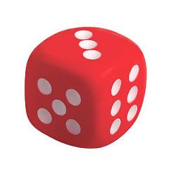 dice shape toy