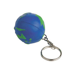 World Stress Reliever Key Chain