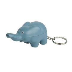 Elephant Stress Reliever key chain