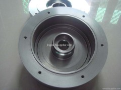 super precision machining steel flywheel accessory parts