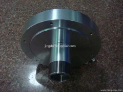 cnc precision industrial components flywheel housing maker
