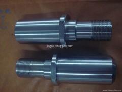 custom carbon steel shaft for fitness bike damping flywheel