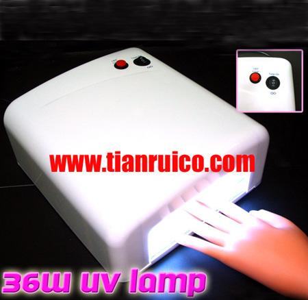 nail gel curing uv lamp machine