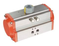 single acting and double acting pneumatic actuator