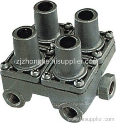 4 circuit protection valve