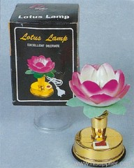 High Lotus Lamp