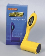 Standing Power Radio W/Time