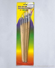 6pc Art Brush Set