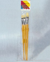 3pc Artist Brush Poly Bag