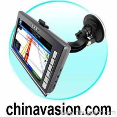 7 Inch Portable GPS Navigation Touchscreen Unit