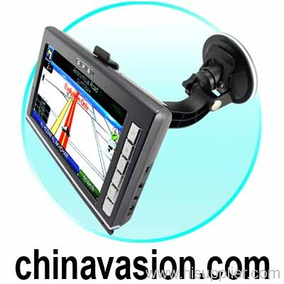 7 Inch Portable GPS Navigation Touchscreen Unit