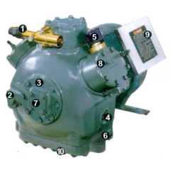 Semi-hermetic Reciprocating Compressor