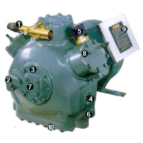 reciprocating chiller compressor