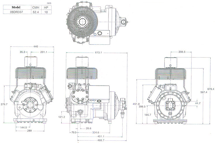 Fitters notes Danfoss compressors - Repair of hermetic