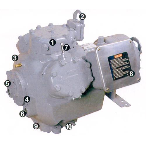 Semi Hermetic Reciprocating Compressor From China