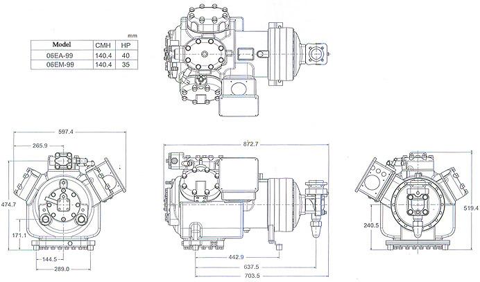 Carlyle Compressor Wiring Diagram : Semi hermetic compressor diagram wiring diagrams