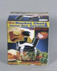 Rocket Chef & Ice Cream