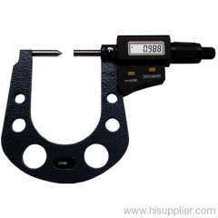 Digital outside micrometer with counter
