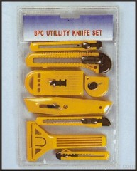8pc Utility Cutter Set