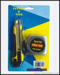 1Cutter & 1 Measuring Tape