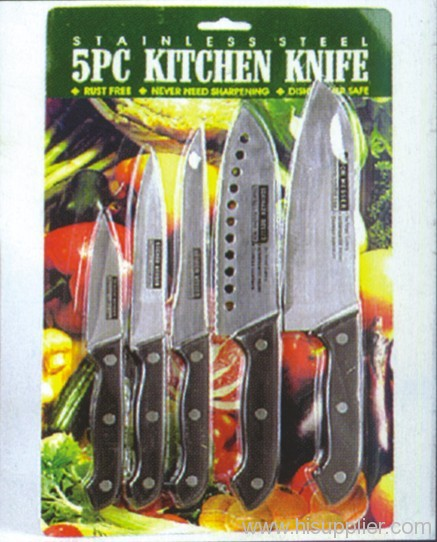 5pc 19-28cm Stainless Steel KiTchen Knife Set