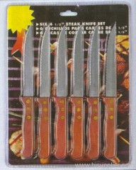 6pc Steak Knife