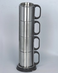 4pc Stainless Steel Cup