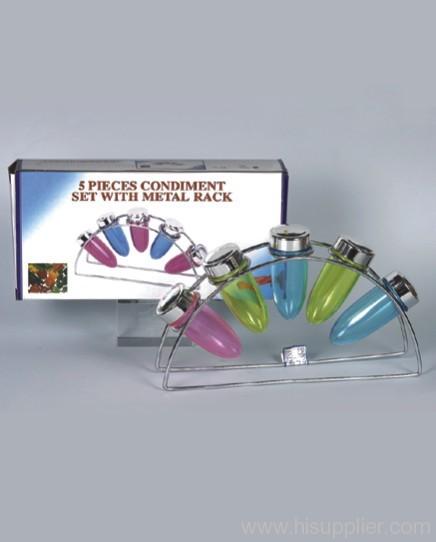 5 Color Spice Rack
