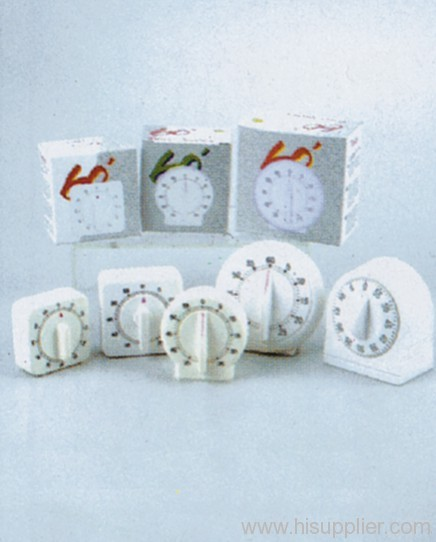 60 Minutes Kitchen Timer 4 Clock Shape