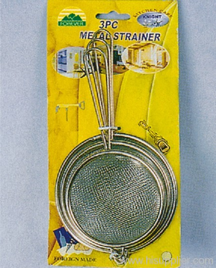 3pc Sink Strainer