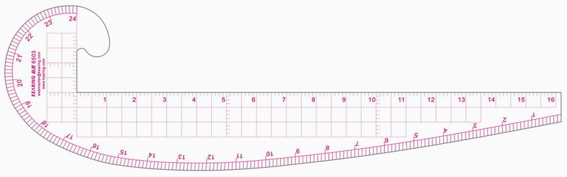 image about Printable French Curve identify Array Style Curve Ruler 6502 brand name against China Shanghai