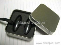 Magnetic Singing Eggs in Metal Box