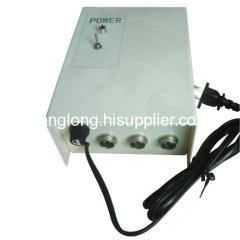 Electronic metal box