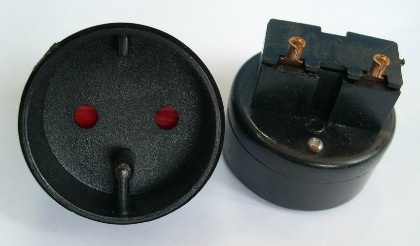 coupling insert for French extension cords