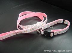 PP COLLAR AND LEASH