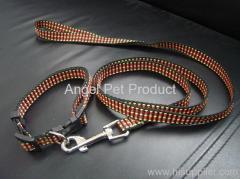 huisdier halsband en riem