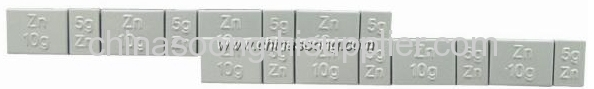 Zn Adhesive weight